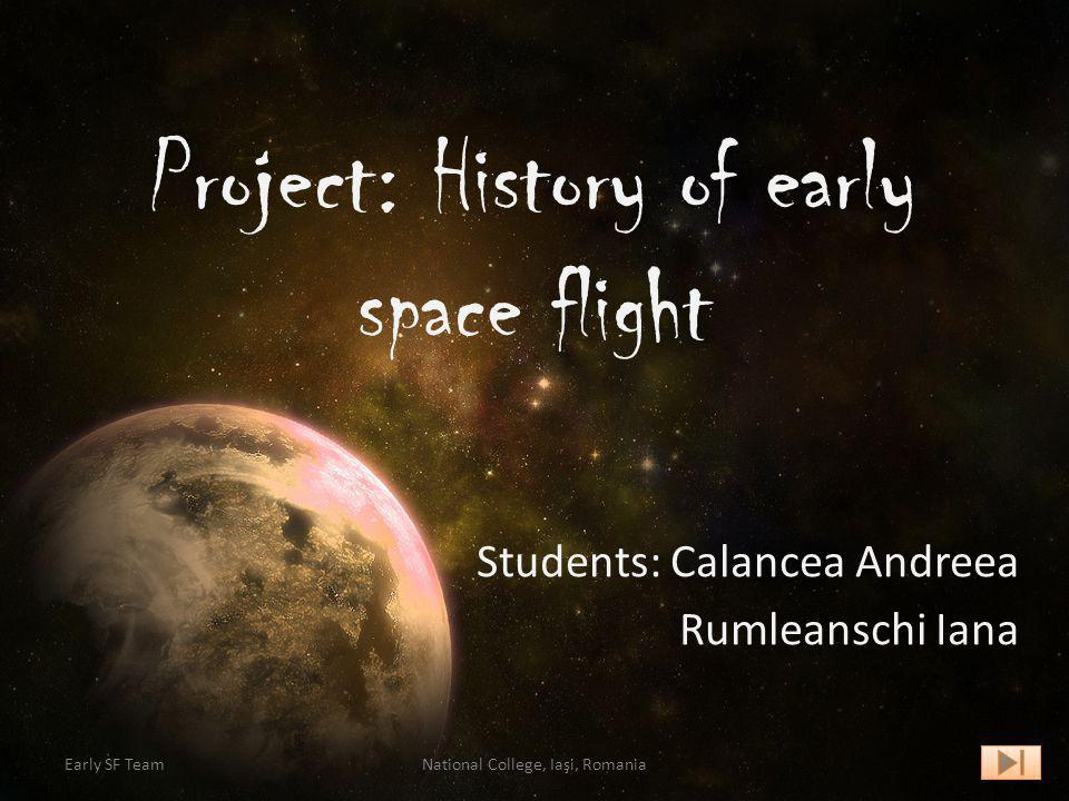 Project: History of early space flight