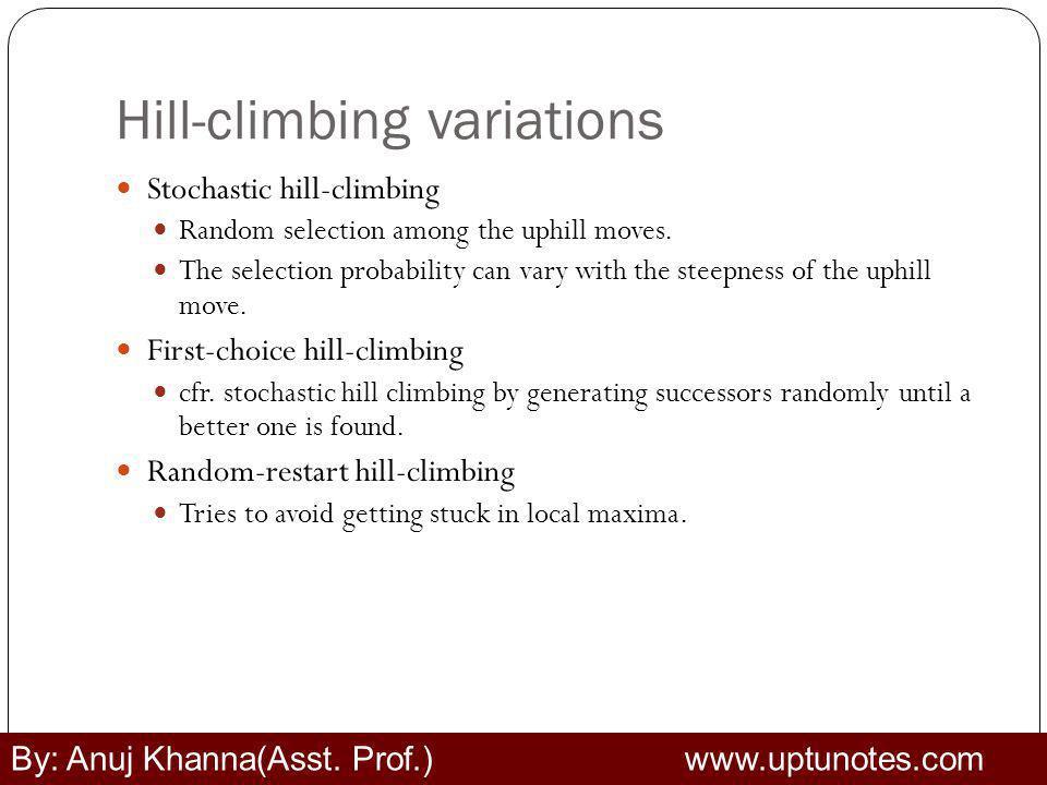 Hill-climbing variations