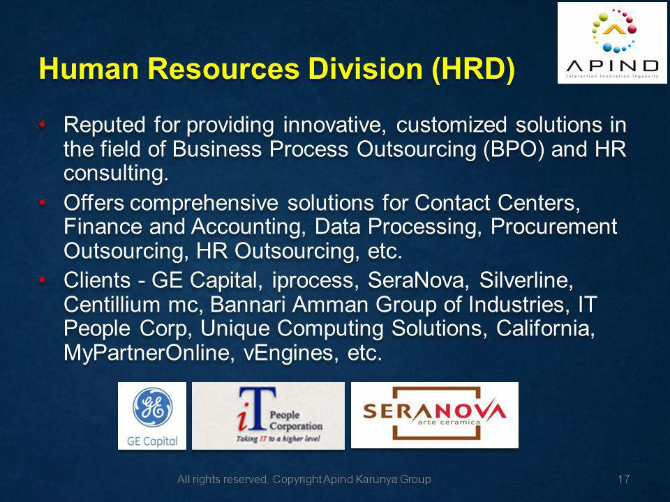 Human Resources Division (HRD)