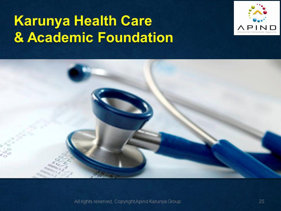 Karunya Health Care & Academic Foundation