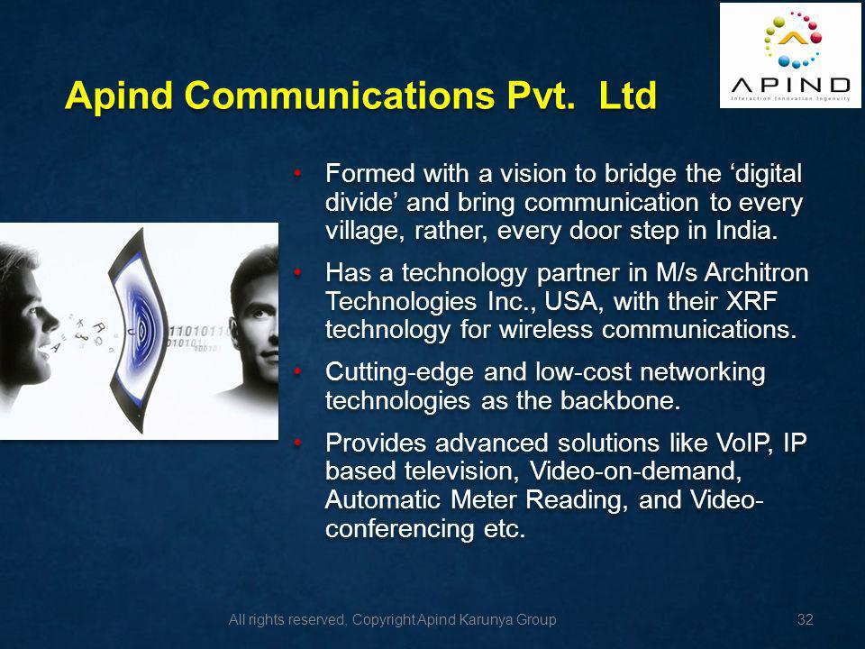 Apind Communications Pvt. Ltd