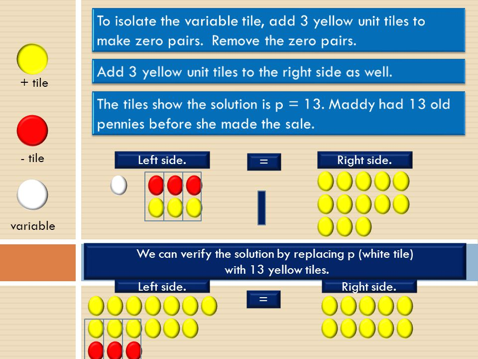Add 3 yellow unit tiles to the right side as well.