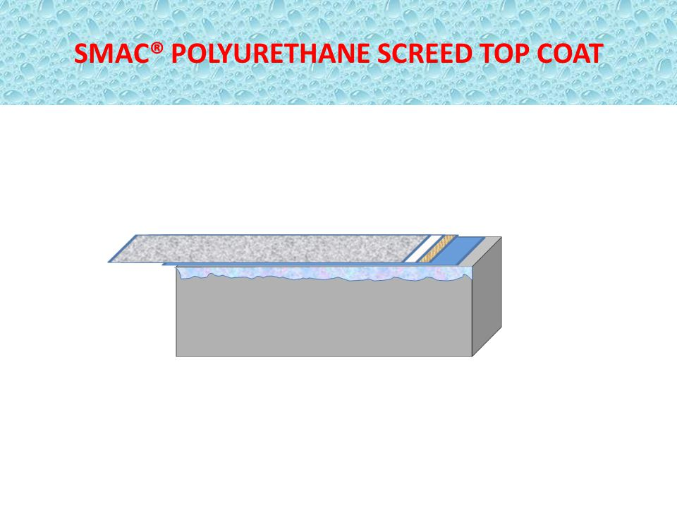 SMAC® POLYURETHANE SCREED TOP COAT