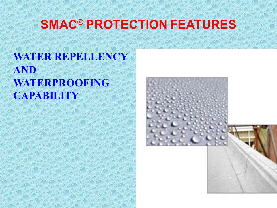 SMAC® PROTECTION FEATURES