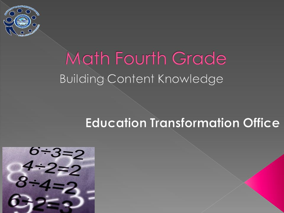 Building Content Knowledge Education Transformation Office
