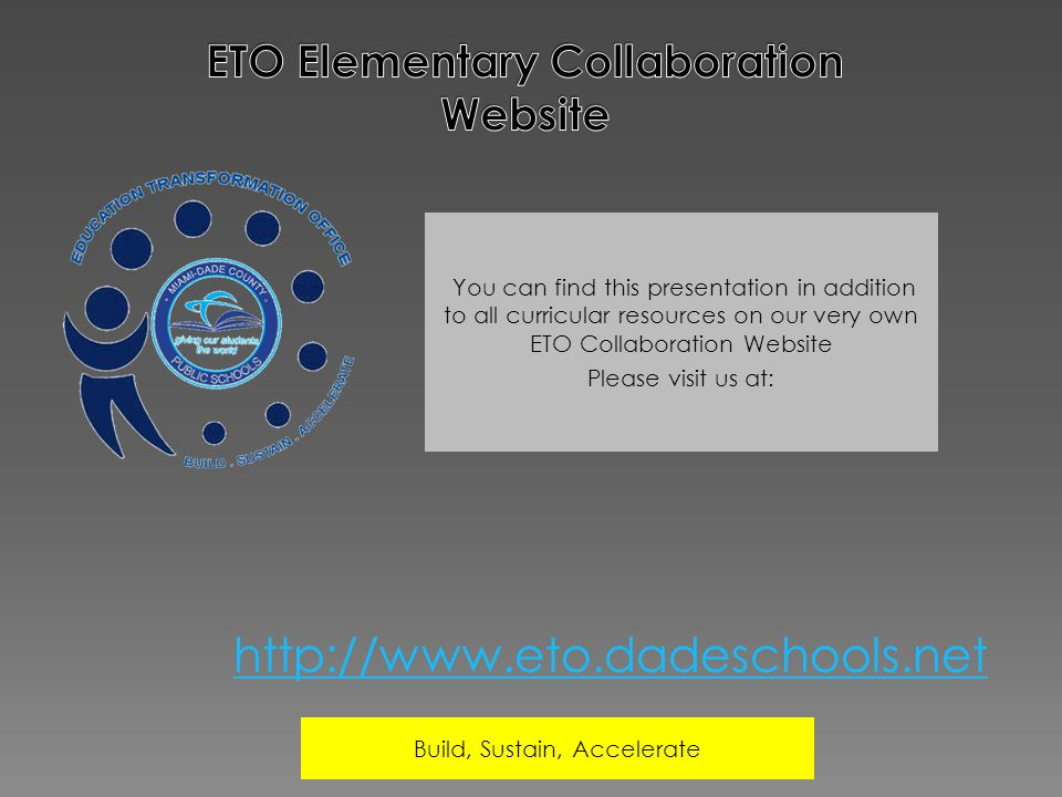 ETO Elementary Collaboration Website