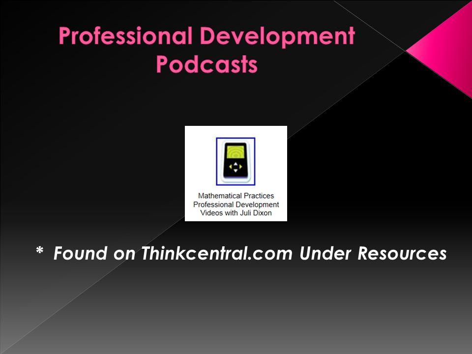 Professional Development Podcasts