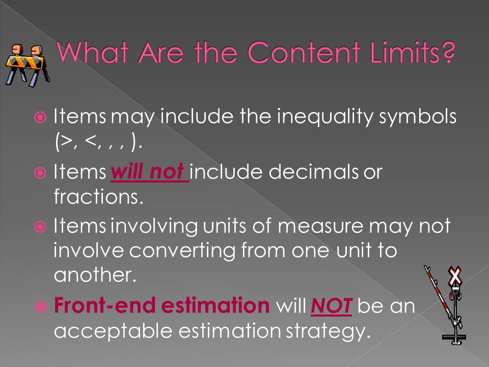 What Are the Content Limits