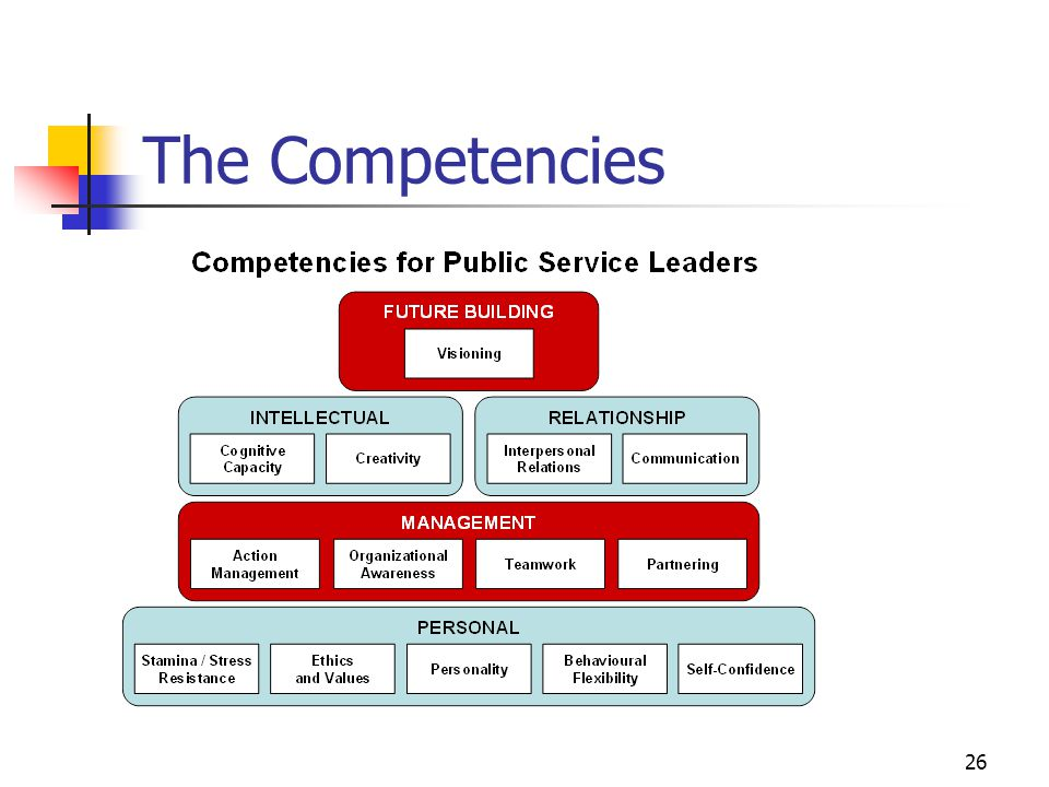 The Competencies