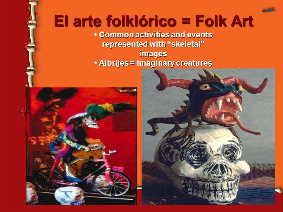 El arte folklórico = Folk Art
