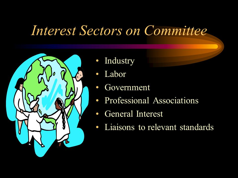 Interest Sectors on Committee