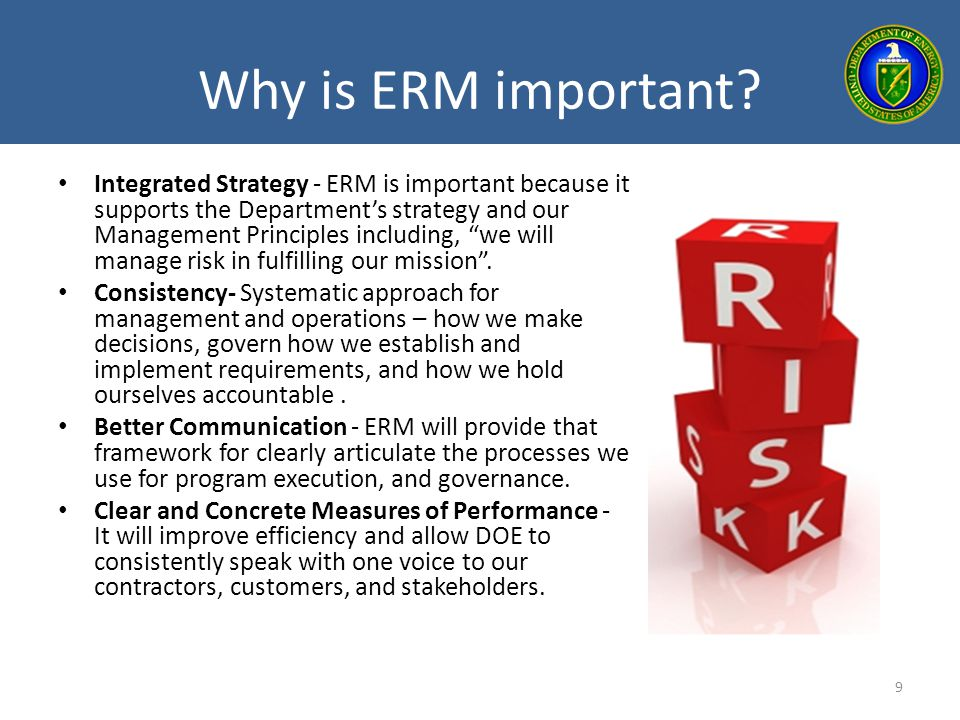 Why is ERM important