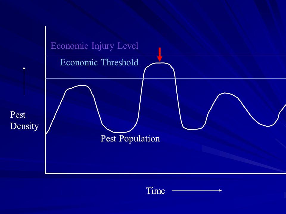 Economic Injury Level Economic Threshold Pest Density Pest Population