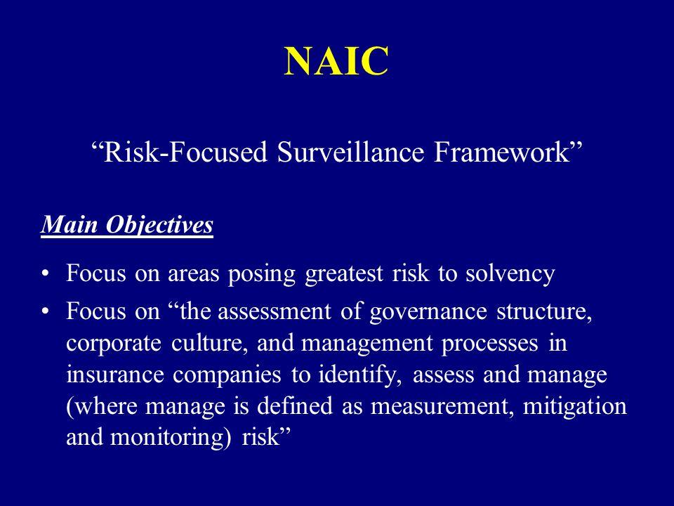 Risk-Focused Surveillance Framework