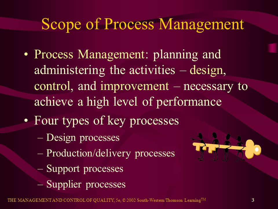 Scope of Process Management