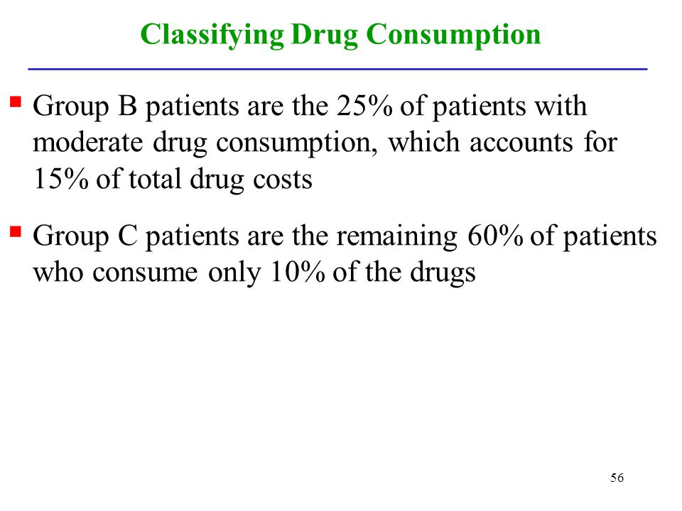Classifying Drug Consumption