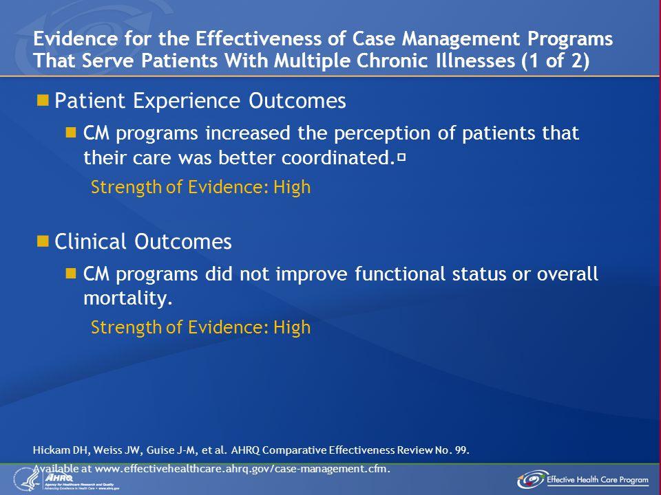 Patient Experience Outcomes