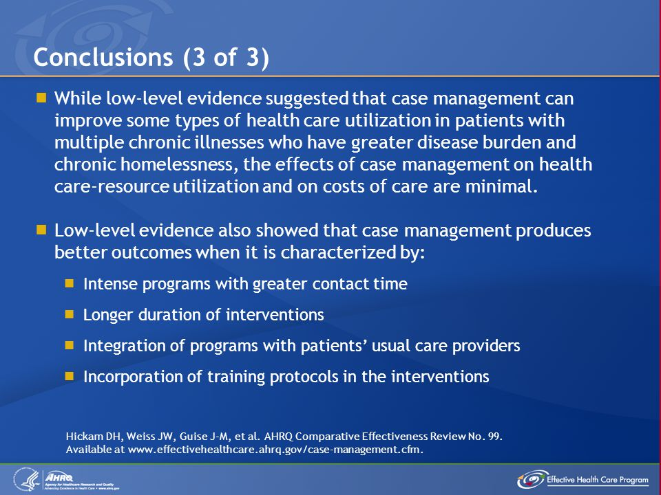 Conclusions (3 of 3)