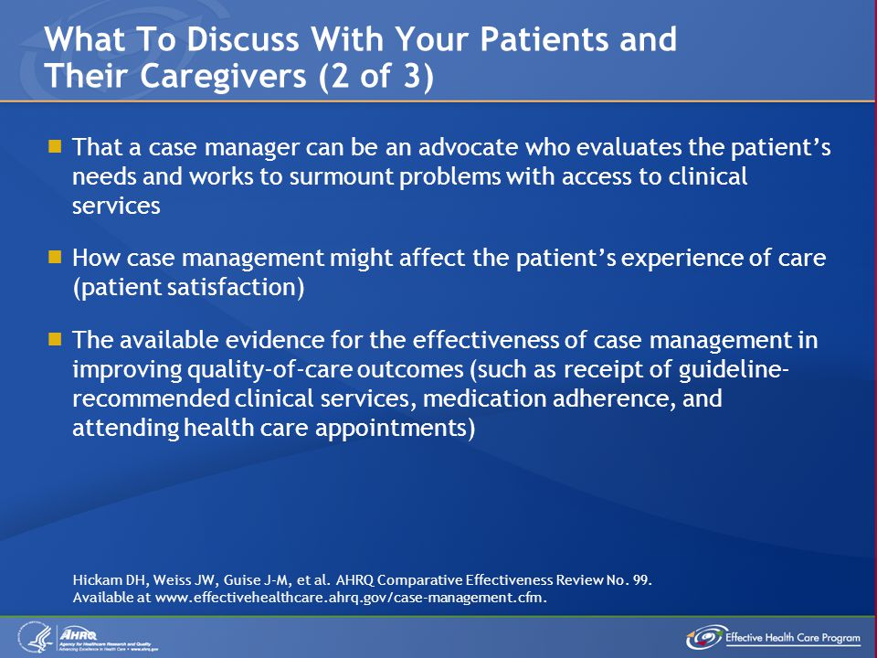 What To Discuss With Your Patients and Their Caregivers (2 of 3)