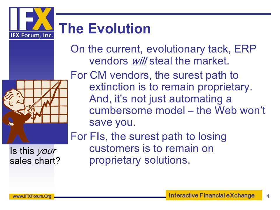 The Evolution On the current, evolutionary tack, ERP vendors will steal the market.
