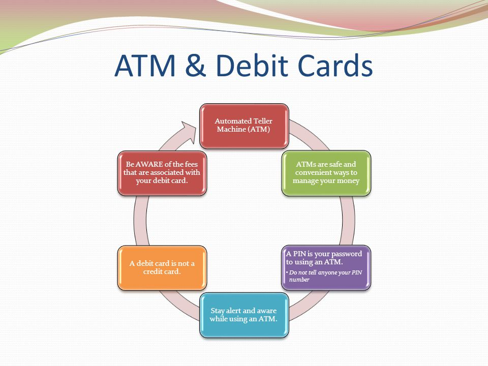 ATM & Debit Cards Automated Teller Machine (ATM)
