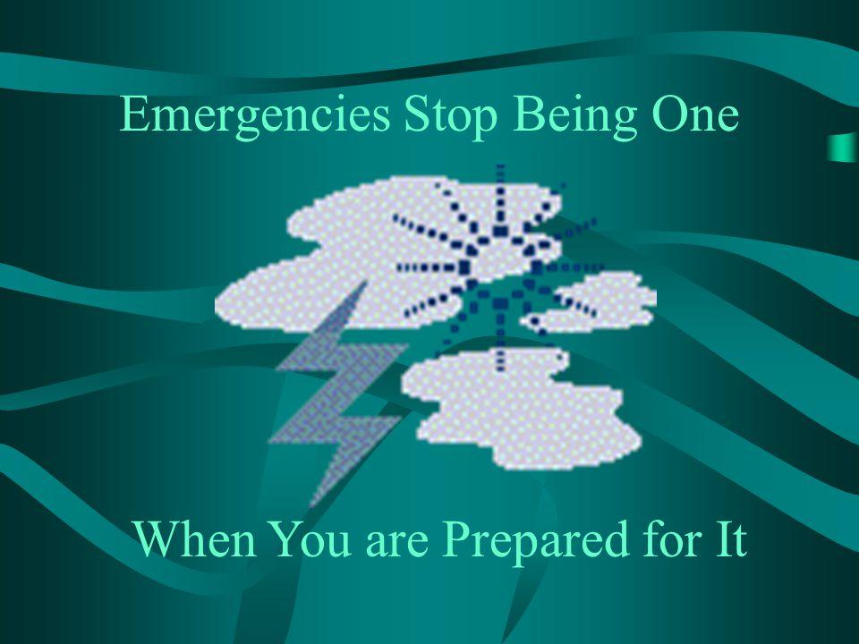 Emergencies Stop Being One