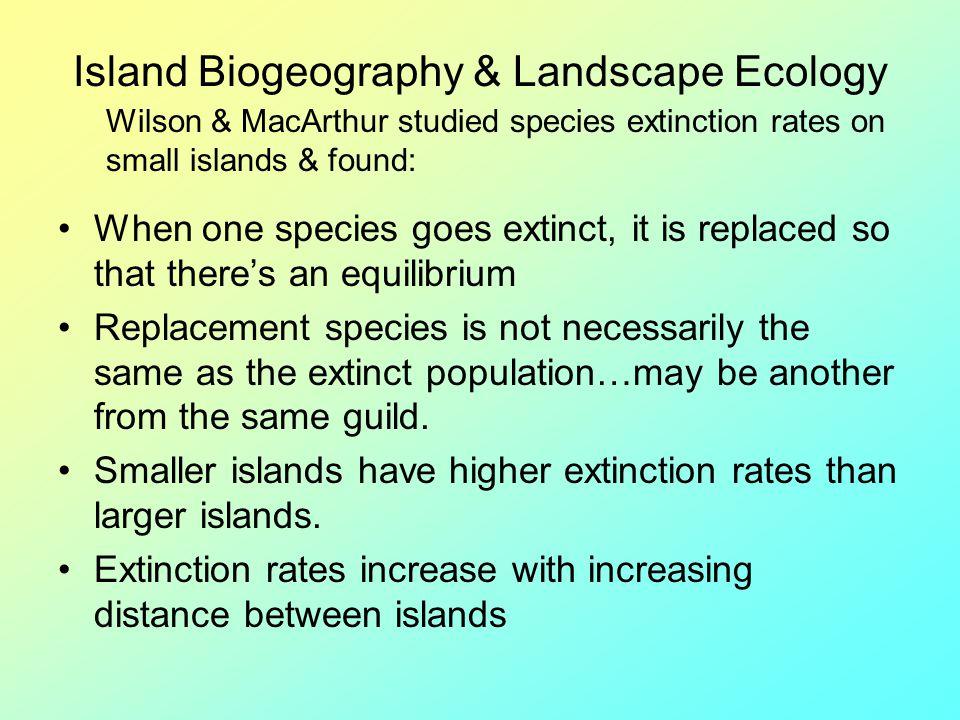 Island Biogeography & Landscape Ecology