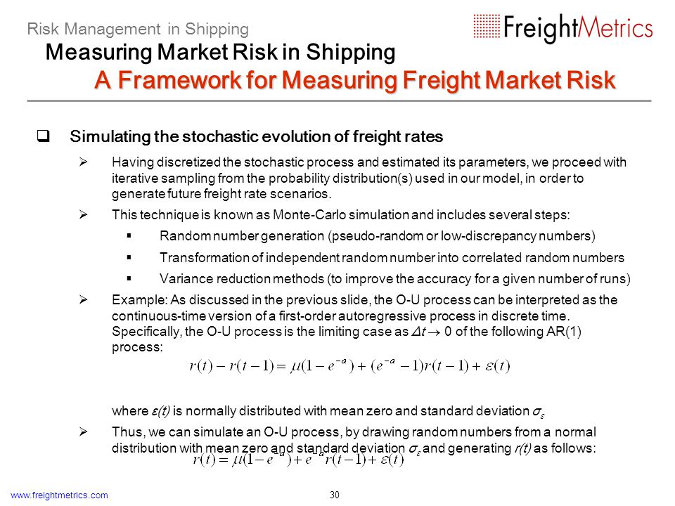 Building the distribution of future fleet cash flows