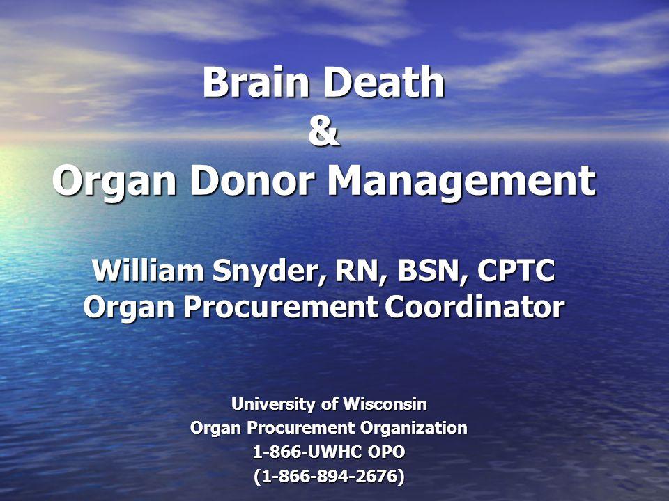University of Wisconsin Organ Procurement Organization