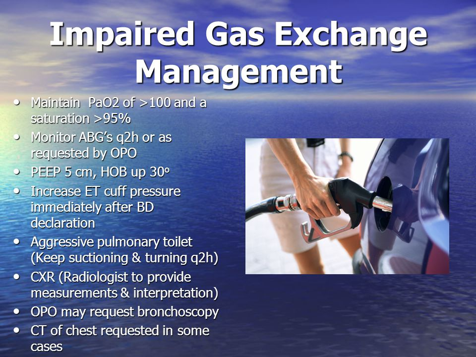 Impaired Gas Exchange Management