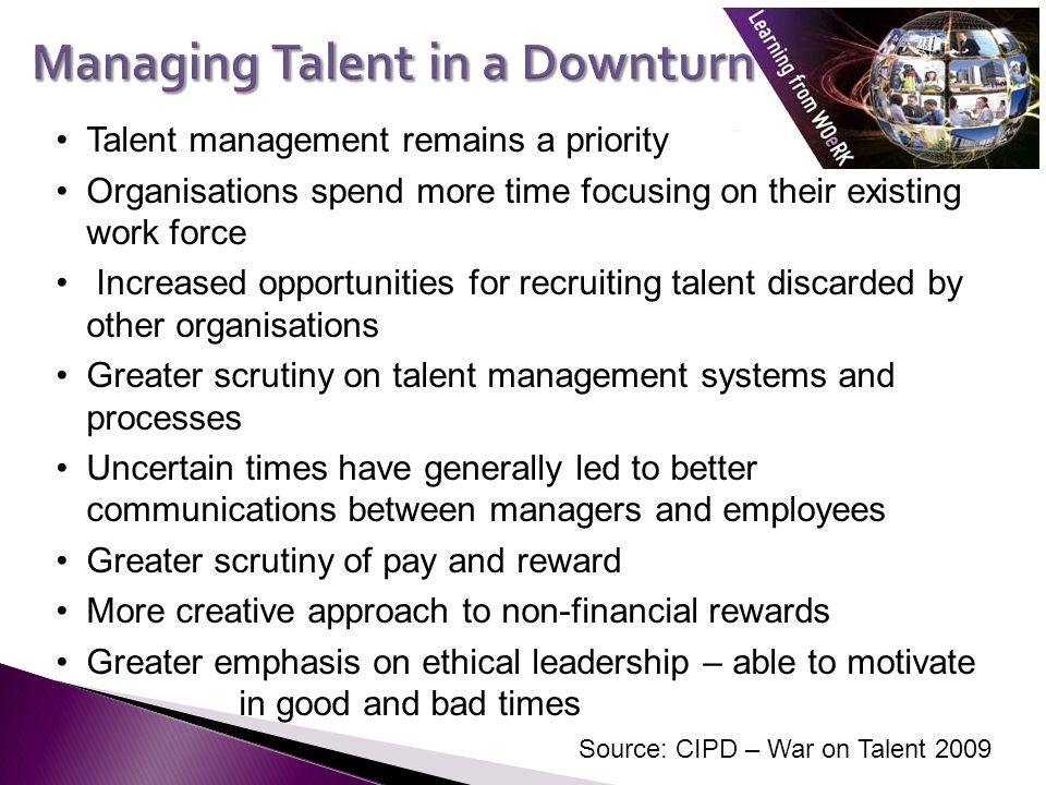 Managing Talent in a Downturn