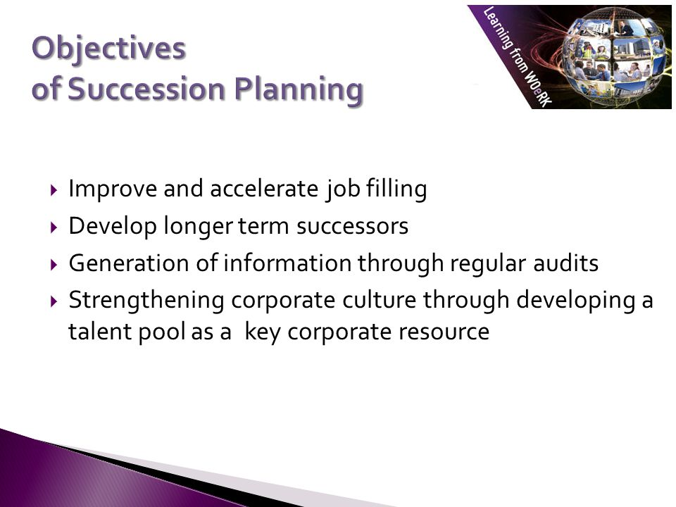 Objectives of Succession Planning