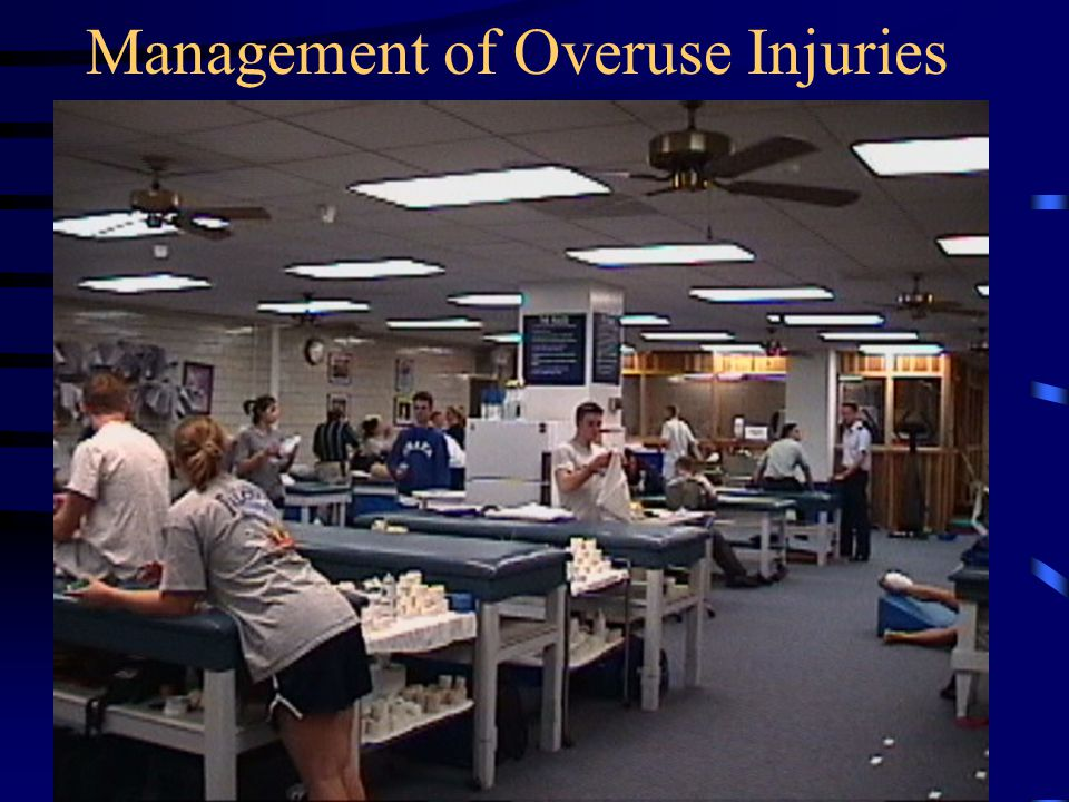 Management of Overuse Injuries