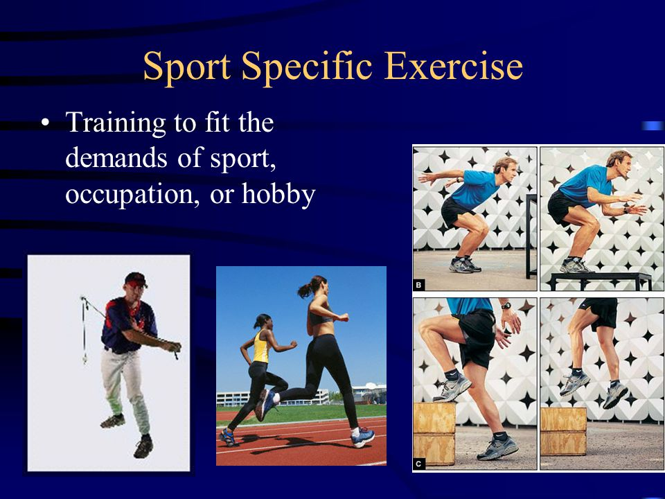 Sport Specific Exercise