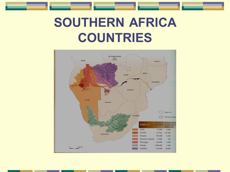 SOUTHERN AFRICA COUNTRIES