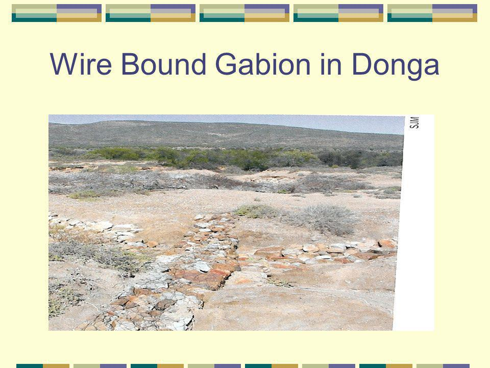 Wire Bound Gabion in Donga