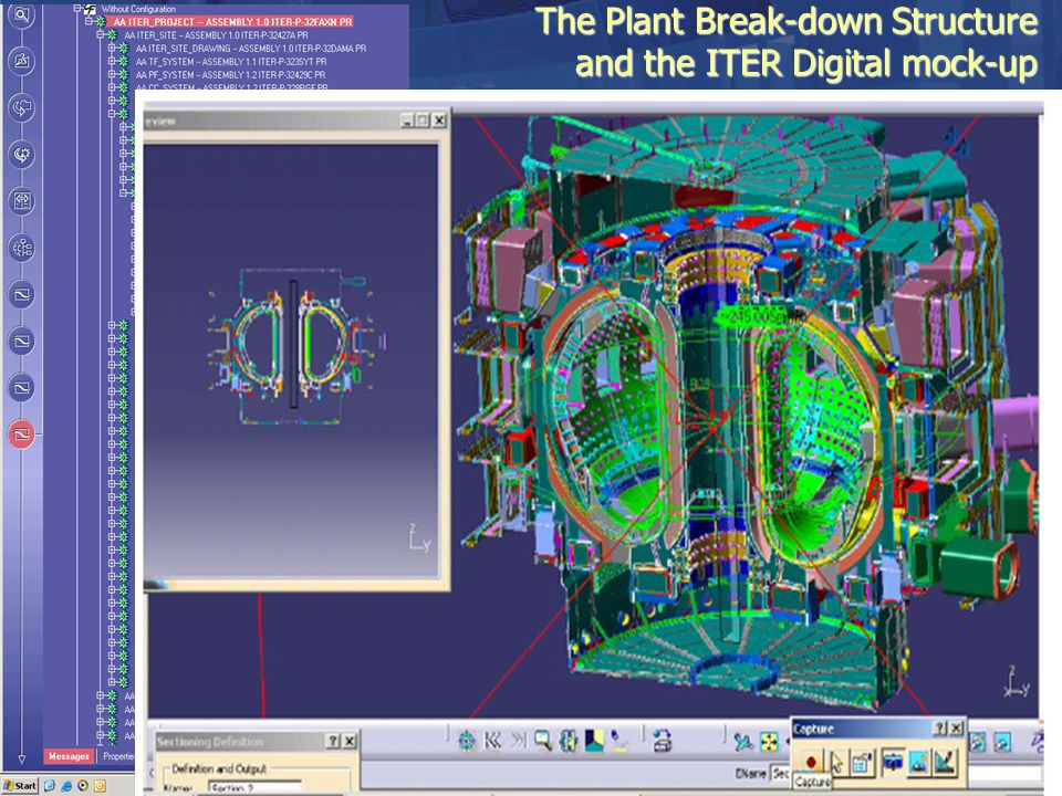 The Plant Break-down Structure and the ITER Digital mock-up
