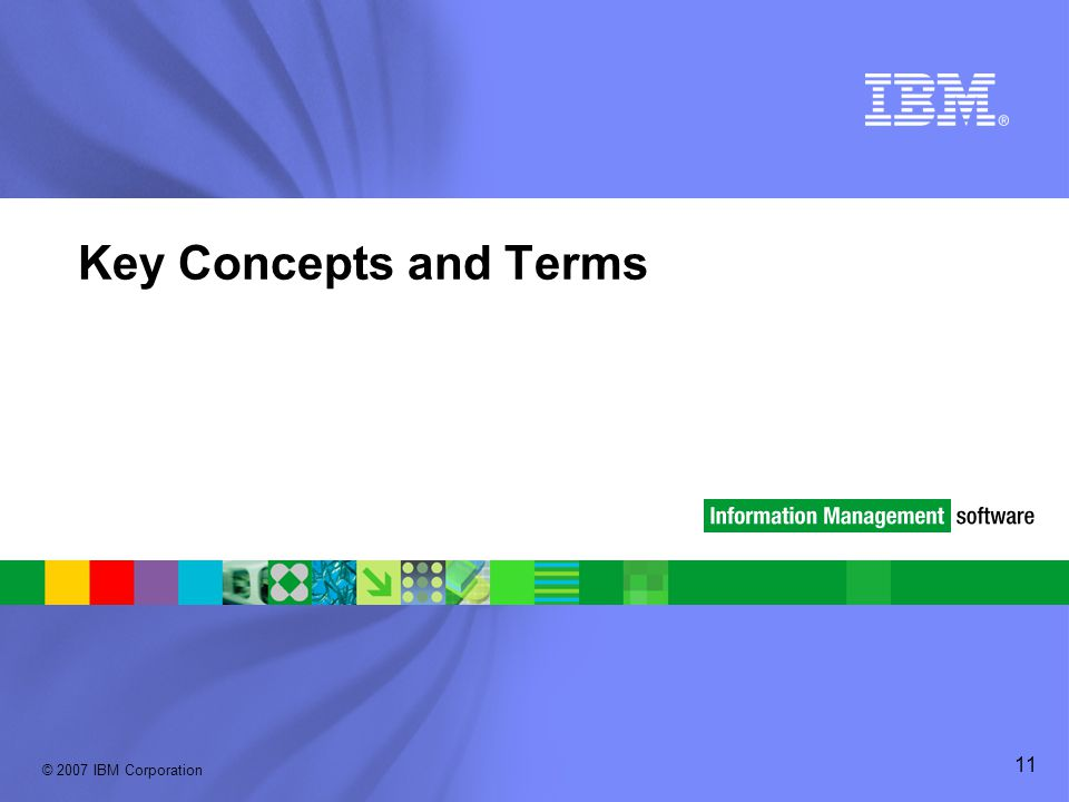 Key Concepts and Terms