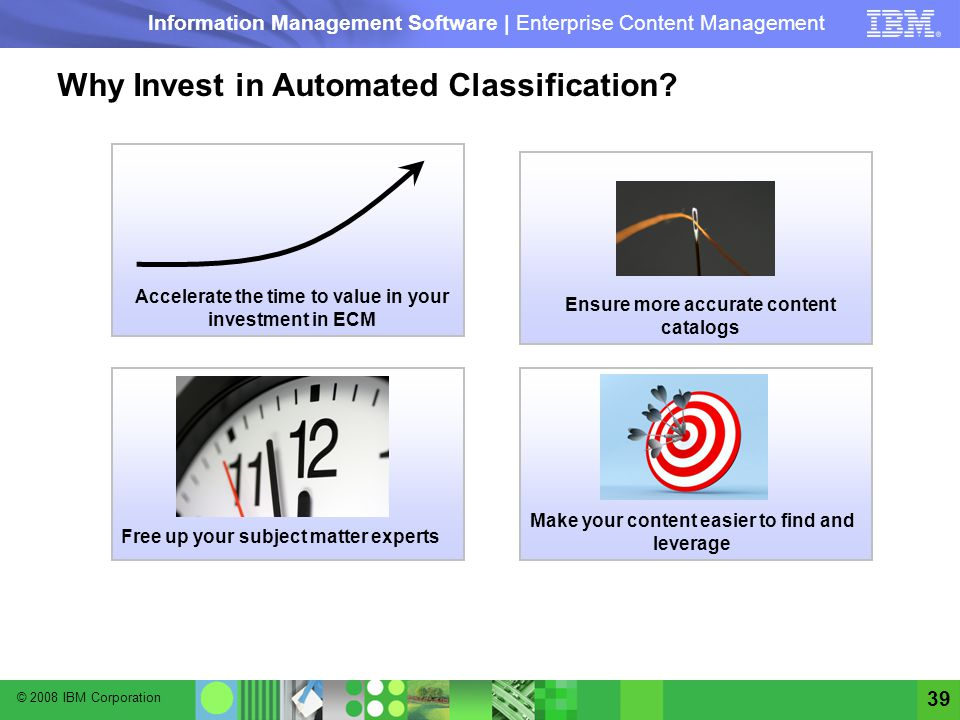 Why Invest in Automated Classification