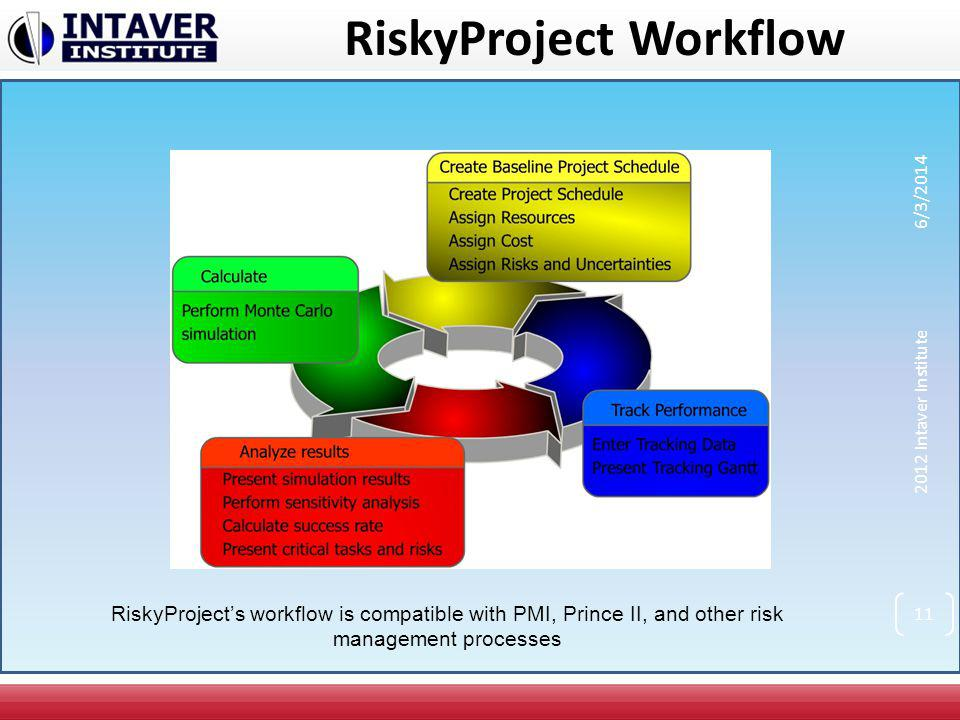 RiskyProject Workflow