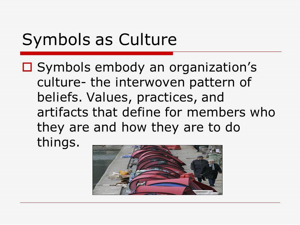 Symbols as Culture