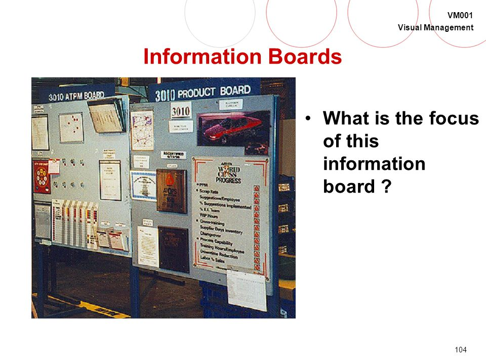 Information Boards What is the focus of this information board