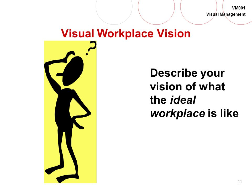 Visual Workplace Vision