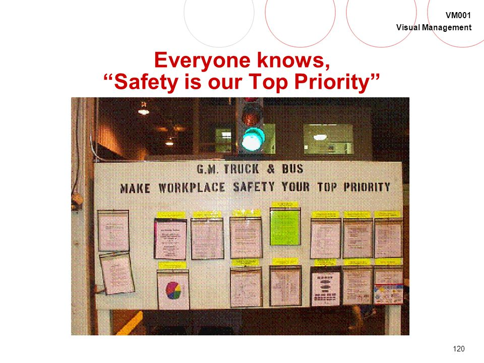 Everyone knows, Safety is our Top Priority