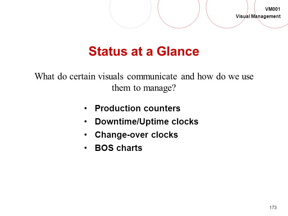 What do certain visuals communicate and how do we use them to manage