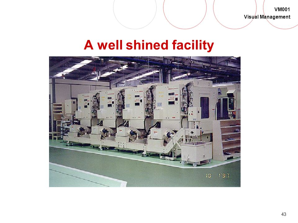 A well shined facility Spain again