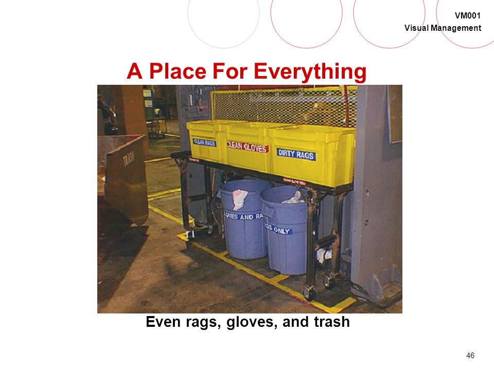 Even rags, gloves, and trash
