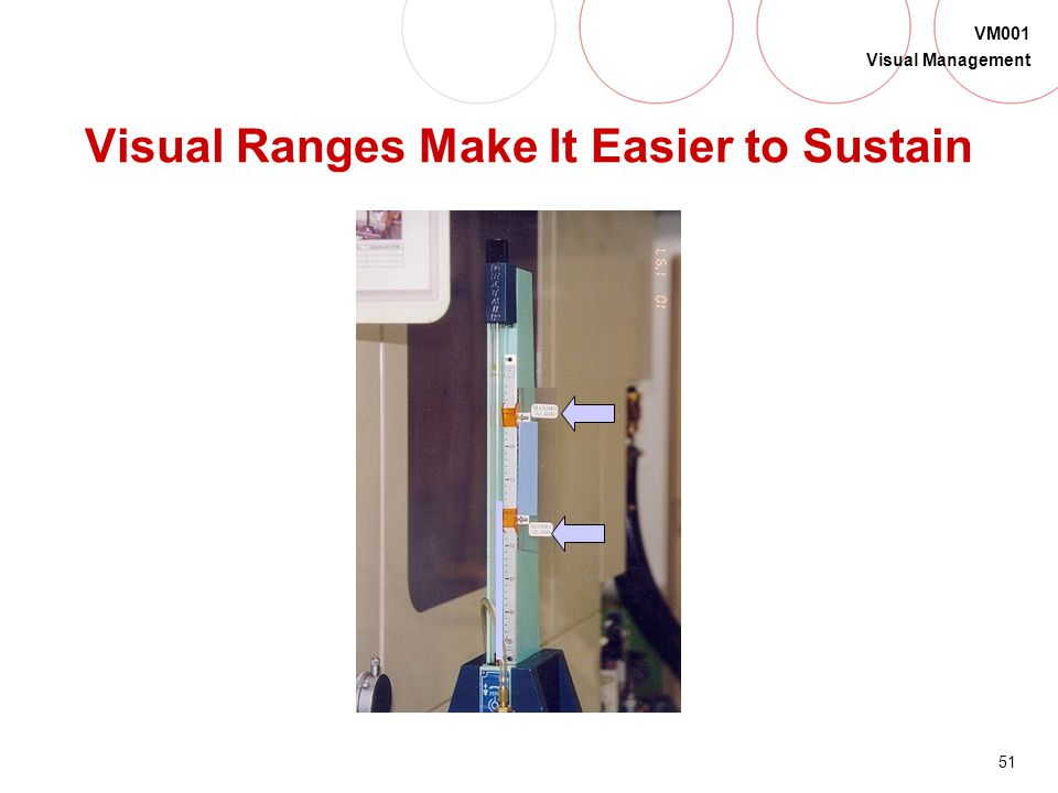 Visual Ranges Make It Easier to Sustain