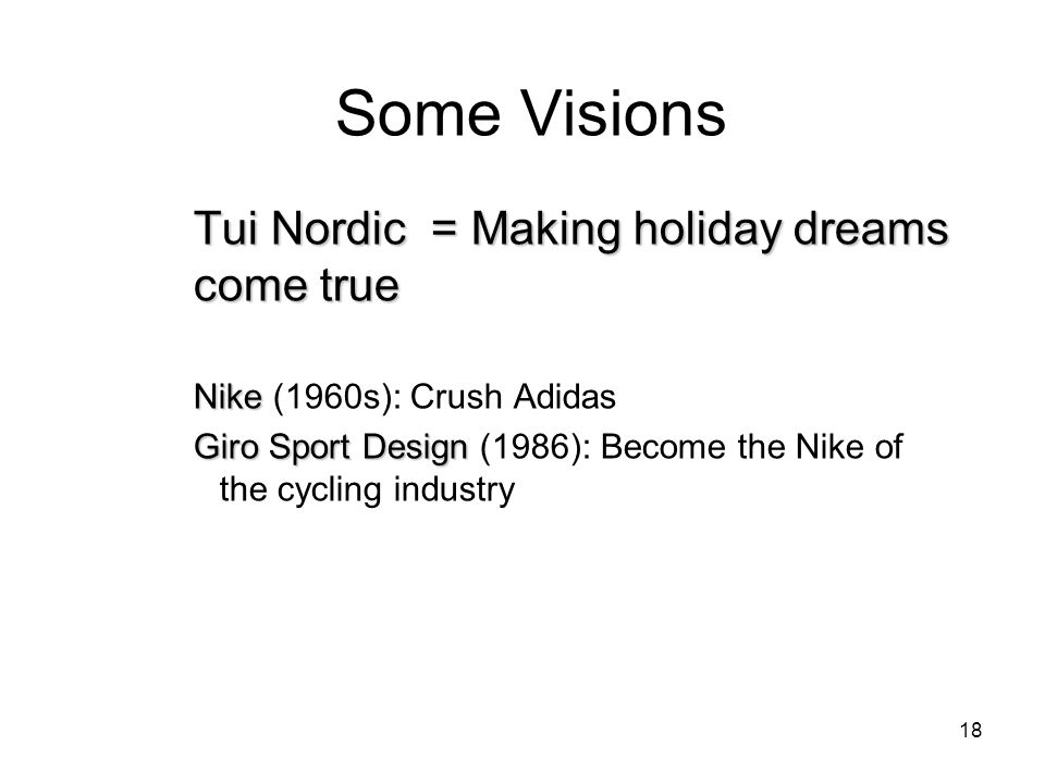 Some Visions Tui Nordic = Making holiday dreams come true