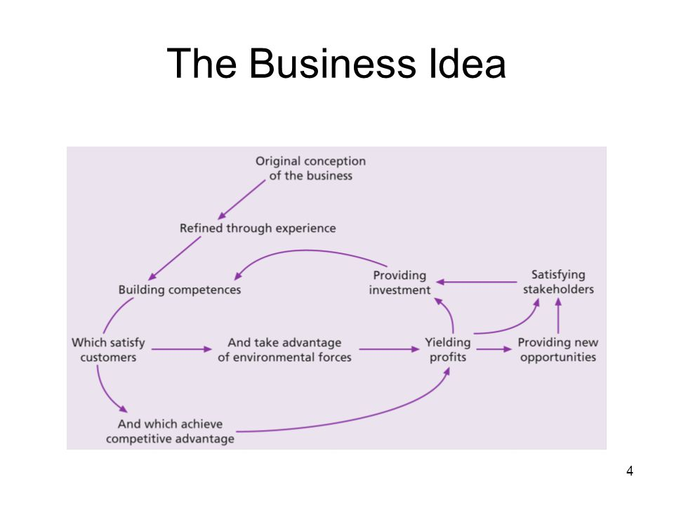 The Business Idea